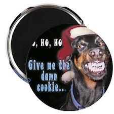 """Doberman Pinscher Smiles 2.25"""" Magnet (10 pack)"""