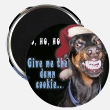 "Doberman Pinscher Smiles 2.25"" Magnet (10 pack)"