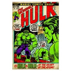 The Incredible Hulk (It's Hulk Vs. Hullk.. At The Framed Print