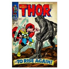 The Mighty Thor (To Rise Again!) Canvas Art