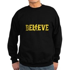 Believe Sasquatch Bigfoot Sweatshirt