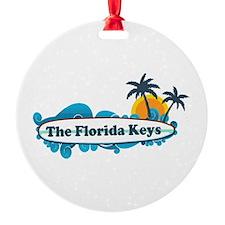 Florida Keys - Surf Design. Ornament