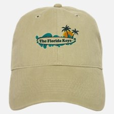 Florida Keys - Surf Design. Baseball Baseball Cap