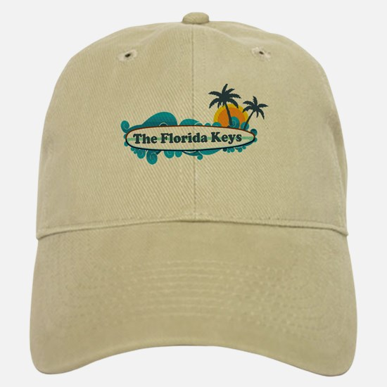 Florida Keys - Surf Design. Baseball Baseball Cap