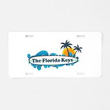 Florida Keys - Surf Design. Aluminum License Plate