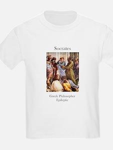 Socrates-Epileptic Kids T-Shirt