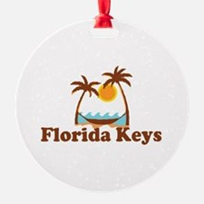 Florida Keys - Palm Trees Design. Ornament
