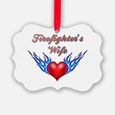 Firefighter's Wife Ornament