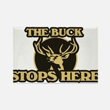 The BUCK stops here Rectangle Magnet