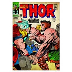 The Mighty Thor (Whom The Gods Would Destroy!) Framed Print
