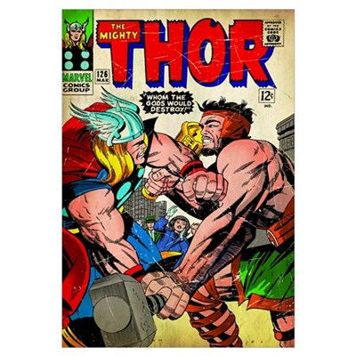 The Mighty Thor (Whom The Gods Would Destroy!) Canvas Art