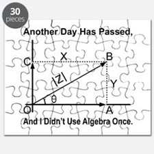 I Didn't Use Algebra Once Puzzle