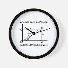 I Didn't Use Algebra Once Wall Clock