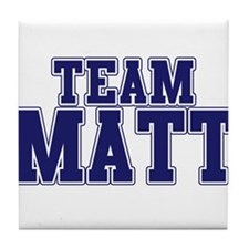 Team Matt Tile Coaster