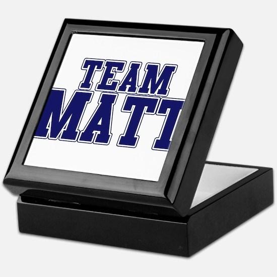 Team Matt Keepsake Box