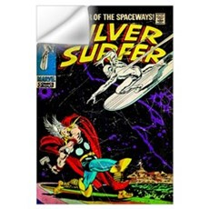 The Silver Surfer Wall Decal