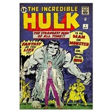 The Incredible Hulk (The Strangest Man Of All Time