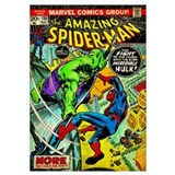 Marvel vintage spiderman Wrapped Canvas Art