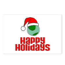 TennisChick Happy Holidays Postcards (Package of 8