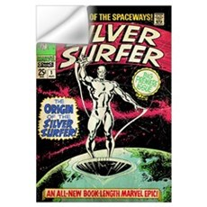 The Silver Surfer (The Origin Of The Silver Surfer Wall Decal