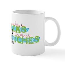 Live in Hitches Mug