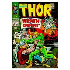 The Mighty Thor (The Wrath Of Odin) Framed Print