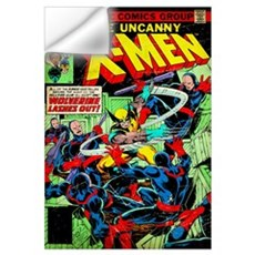 The Uncanny X-Men (Wolverine Lashes Out) Wall Decal