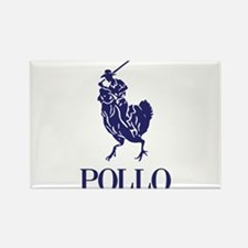 Pollo Rectangle Magnet