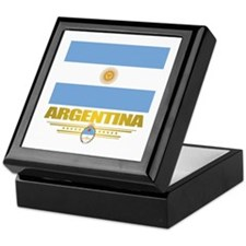 Flag of Argentina Keepsake Box
