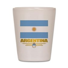 Flag of Argentina Shot Glass