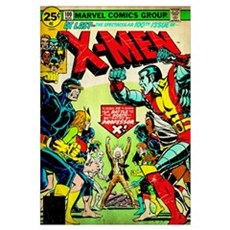 X-Men (At Last The Spectacular 100th Issue) Canvas Art