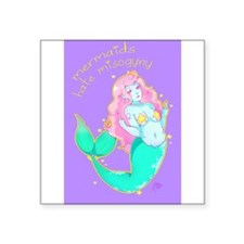 Mermaids Hate Misogyny Sticker