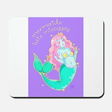 Mermaids Hate Misogyny Mousepad