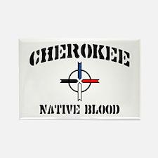 Cherokee Rectangle Magnet