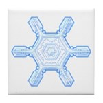 Flurry Snowflake VII Tile Coaster