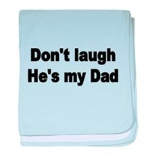 DONT LAUGH baby blanket
