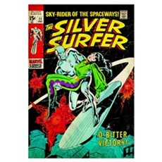 The Silver Surfer (O, Bitter Victory!) Framed Print