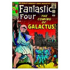 The Fantastic Four (The Coming Of Galactus!) Canvas Art