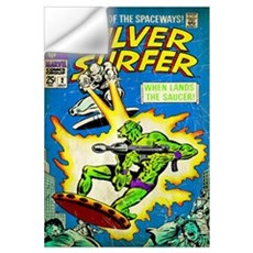 The Silver Surfer (When Lands The Saucer!) Wall Decal