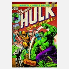 The Incredible Hulk And Now The Wolverine!