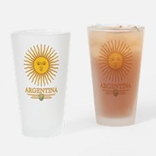 Argentina Sun Drinking Glass