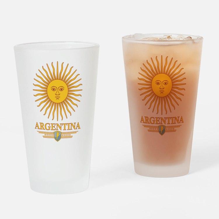 Argentina Sun Drinking Glass