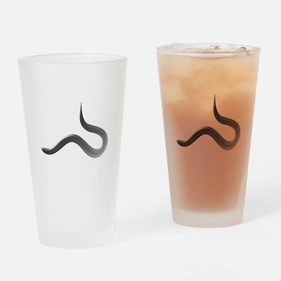 C. elegans Drinking Glass