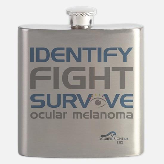 ACIS T Shirt Unisex Identify Front PRINT Flask