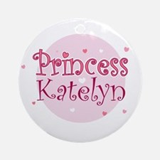 Katelyn Ornament (Round)