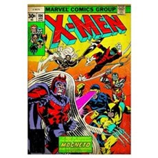 X-Men (Against Magneto) Canvas Art