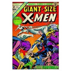 X-Men, Giant-Size (When The Sentinels Strike) Framed Print
