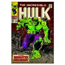The Incredible Hulk (This Monster Unleashed!) Poster