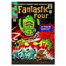 The Fantastic Four (If This Be Doomsday!) Canvas Art