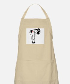 Girl with Heart Apron